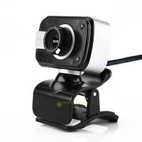 USB 12MP HD Webcam Web Cam Camera Built-in MIC for Computer PC Laptop Skype Chat