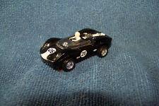 Aurora HO Slot Car Flamethrower McLaren Elva #26 with RRR Wire wheels/tires