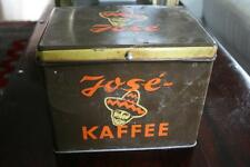 alte Kaffee Blech Dose JOSE Mexico used Direktverkauf  origin vintage