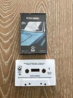Peter Gabriel Self Titled Cassette Tape 1978 Atlantic Records