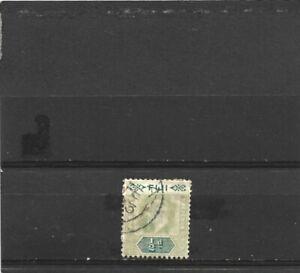 Fiji 1903 Edward VII 1/2d Green & Pale Green Single Used Single Used