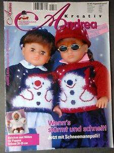 Andrea Kreativ  -  Puppenmode  -  Nr. 0531 Spezial