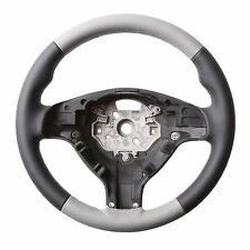 BMW E46, E39 M STEERING WHEEL, NEW NAPPA LEATHER BLACK / GREY