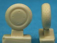 "P-40N Covered Wheels, Block Tread (27"" light weight), 48172, Ultracast 1/48"