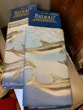New Norwall Dolphin Porpoise Wallpaper Border Lot 3 Each 5 Yards Prepasted