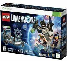 Lego Abmessungen Starter Pack Xbox 360 Brandneu Und Versiegelt + Lego Movie Fun Pack