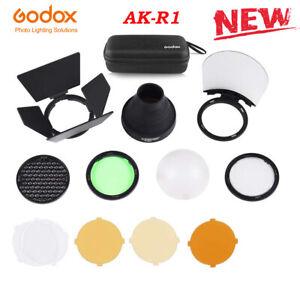 Godox AK-R1 Kit Snoot Diffuser+Filters for Godox H200R AD200 Round Flash Head