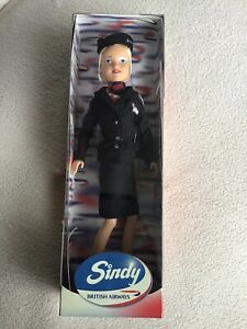 Vintage Sindy Doll British Airways Julian Macdonald Uniform Collectable BNIB
