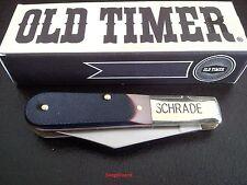 """Schrade Old Timer 3.4"""" Barlow 280OT Folding Pocket Knife,Work,Farm,Hunting,Knife"""