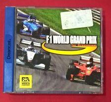F-1 World Grand Prix - SEGA - DC - DREAMCAST - USADO - BUEN ESTADO