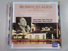 RUBEN BLADES WITH WILLIE COLON SIEMBRA Y OTROS FAVORITED SALSA PARA SIEMPRE CD