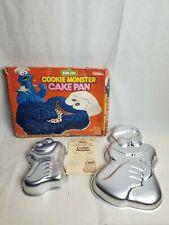 Wilton Vintage Cookie Monster and Cookie Monster Jr. Cake Pan Set