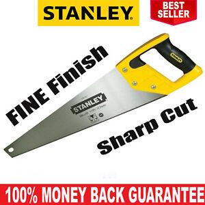 Stanley Hand Saw Sharp Cut / Wood Hand Saw / Fine Finish Fast & Efficient Cuts