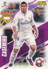 387 CASEMIRO ESPANA REAL MADRID BASE CARD CARTA MGK 2018 PANINI
