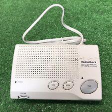 New listing 1 Radio Shack Fm Wireless Intercom 43-491 White Fast Free Shipping