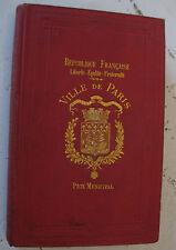 1904 Contes d'un enfant du peuple A Mercier Prix municipal Paris armoiries