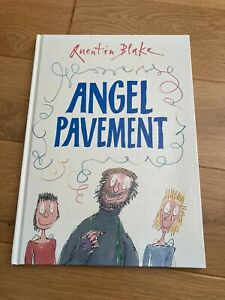Quentin Blake Angel Pavement First Edition 1st/1st Signed Genuine 2004