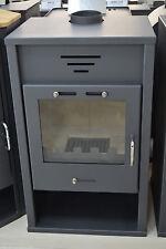 Wood Burning Stove Log Burner Solid Fuel Fireplace 20 kw Top Flue Low Emissions