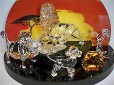 SWAROVSKI DISNEY 2010 LION KING SERIES COMPLETE 6 PIECE SET BNIB