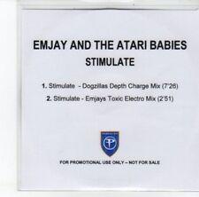(DJ787) Emjay & The Atari Babies, Stimulate - DJ CD