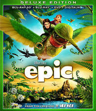 Epic (Blu-ray/DVD, 2013, 2-Disc Set, Canadian)  GREAT KIDS MOVIE