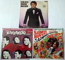 ARMANDO MANZANERO Lot Of 3 LP's...Latin