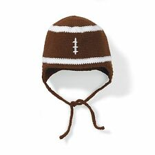 New San Diego Hat Baby Kids Brown FOOTBALL Beanie  6-12 M, 12-24 M. 1-2 y, 3-6 y