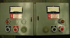 Square D QMB 8536 Size 1 Twin Motor Starter