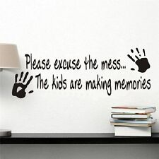 Children's Bedroom Novelty Wall Stickers