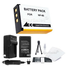 NP-85 Battery + Charger for Fuji FinePix S1 SL240 SL260 SL280 SL300 SL305 SL1000