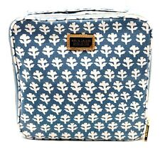 New! Estee Lauder Aerin Leaf  Canvas Cosmetic Bag Pouch with Handle