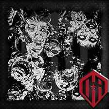 HYDROGRAPHIC WATER TRANSFER HYDRODIPPING FILM HYDRO DIP ZOMBIE PRINT ZOMBIES 2M