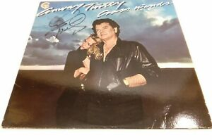 CONWAY TWITTY CROSS WINDS SIGNED AUTOGRAPHED 1980 LP ALBUM RECORD COUNTRY MUSIC