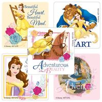 25 Disney Beauty and the Beast Belle Stickers Party Favors Teacher Supply
