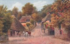 Devon Posted J Salmon Collectable Artist Signed Postcards