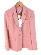 Elizabeth and James Carson Crepe Blazer - Dahlia Pink - UK10/US6 - RRP £475 New