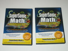 SuperSonic Math DVDs & Printable CD by Howard Berg