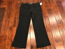 Nanette Lepore Black Striped Pants, Size 6