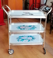 Hostess trolley 3 tier with combined serving tray Ref 2461