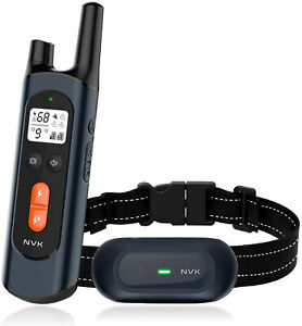 NVK Shock Collars for Dogs with Remote - Rechargeable Dog Training Collar with 3