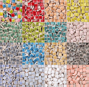 Super Micro Ceramic Mosaic Tiles DIY Hobbies Arts Mosaic Tiles For Crafts 250pcs