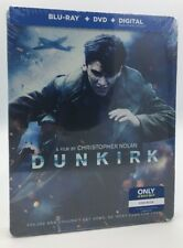 Dunkirk (Blu-ray+DVD+Digital, 2017; 2-Disc Set; Only @ Best Buy Steelbook) NEW