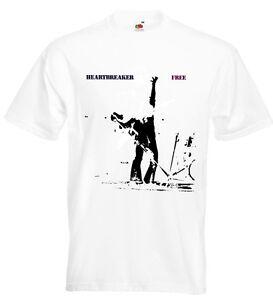Free Heartbreaker T Shirt Paul Rodgers Paul Kossoff Simon Kirke Andy Fraser