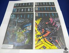Lot of 7: 1988 Aliens Comics #1-6 + Dark Horse Presents Issue #24