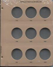 DANSCO Album Page American Silver Eagle 1995-2003 Dollars #7181-2 page 2