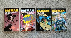 Batman The Caped Crusader & Dark Knight Detective LOT! BrandNew, OOP & Rare TPB