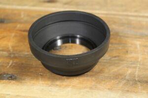 Vintage Hoya Rubber Foldable Lens Hood 49mm Made in Japan