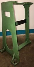 Vintage Greenerd NO. 3A 3AS1 Model Arbor Press Cast Iron Floor Stand. Our #2