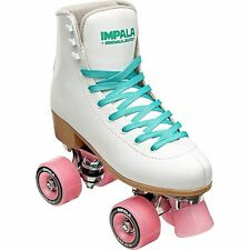 Impala Sidewalk RollerSkates White - Size 9