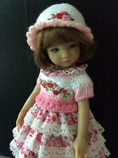 "Outfit for Dianna Effner doll Little Darling 13"" 4pc."